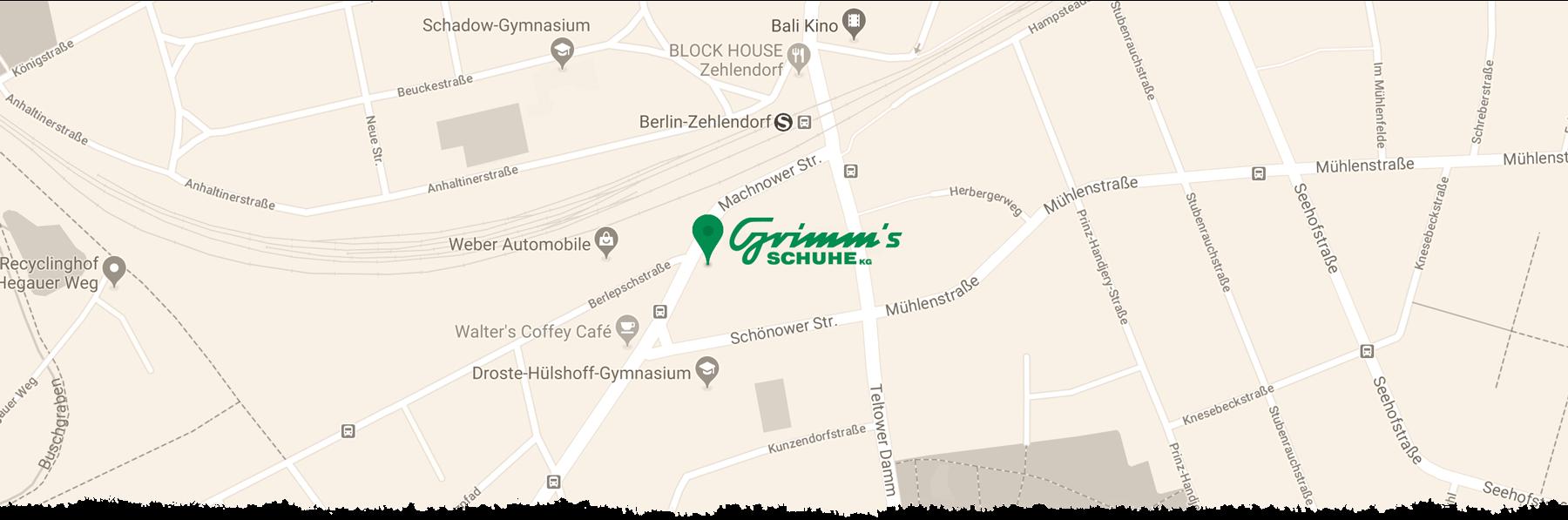 Grimms Schuhe Berlin Standort