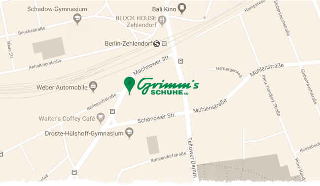 Grimms Schuhe Standort Mobil